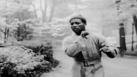 Sugar Ray Robinson Running