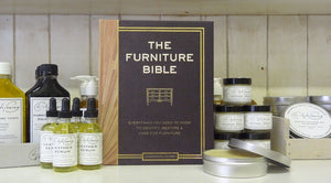 The Furniture Bible by Christophe Pourny,  from Artisan Books at Workman Publishing. Foreword by Martha Stewart.