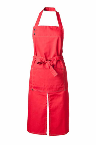 CHERRY RED APRON