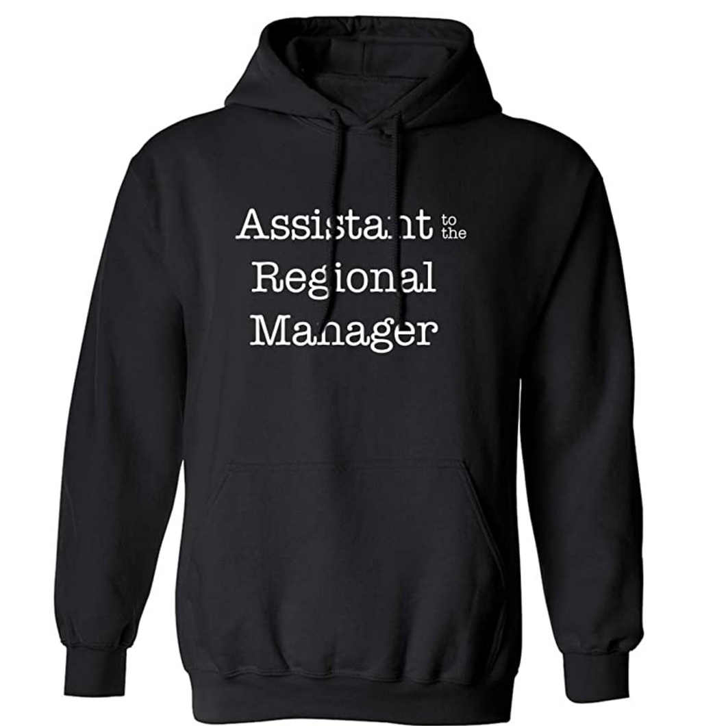 Assistant to The Regional Manager Adult Hooded Sweatshirt
