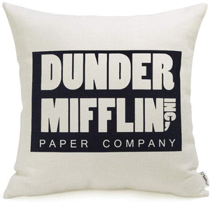 Dunder Mifflin Pillow Cover