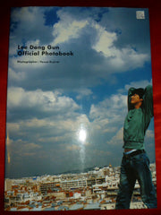 Lee Dong Gun Official Photobook