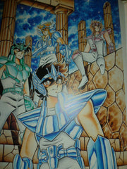 Saint Seiya Art Book Burning Blood Masami Kurumada