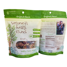 Load image into Gallery viewer, veronica's health crunch original flavor in 6.5 oz bag