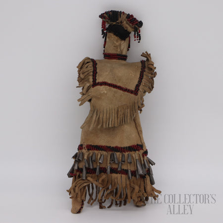 Apache Beaded Hide Doll c.1880