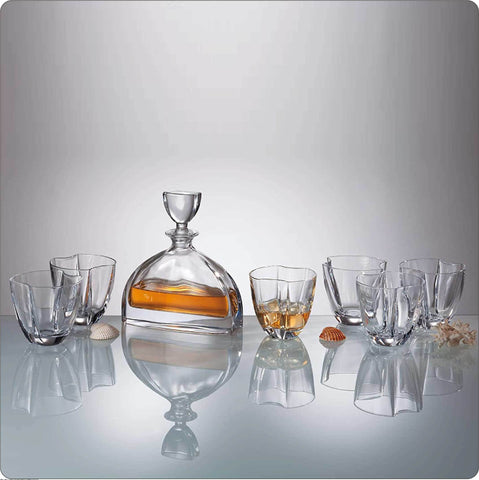 Nemo Crystal Whiskey Decanter Set