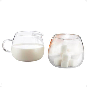 2x 270ml Milk Pot & Sugar Pot