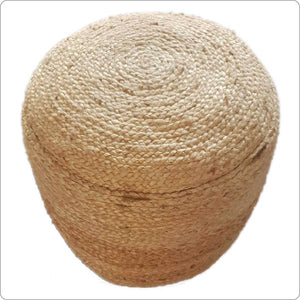 Natural Jute Dori Pouf
