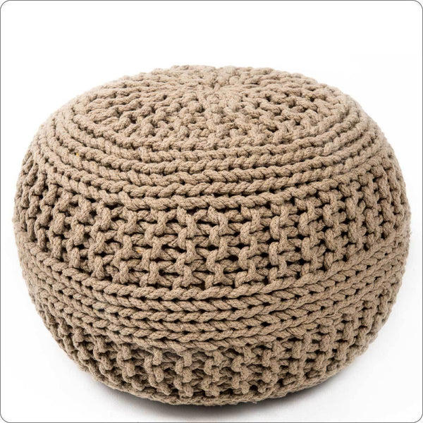 Cotton craft Dori Pouf - COFFEE