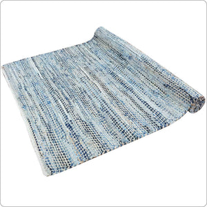 Cotton Jute Durrie Hand woven