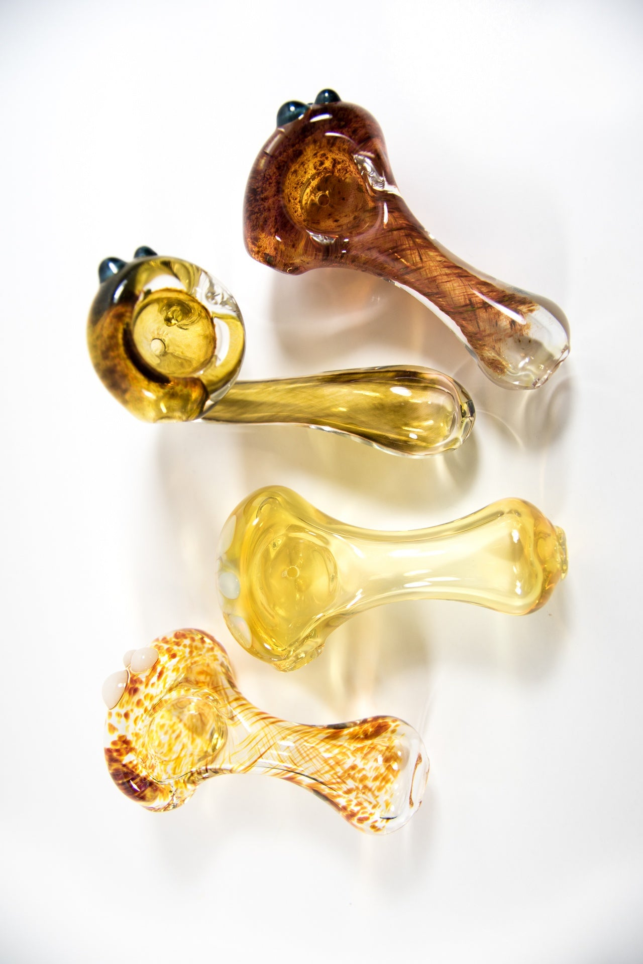 Hand Blown Dustin Pipe