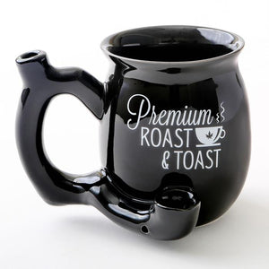 Ceramic Roast and Toast Mug Pipe