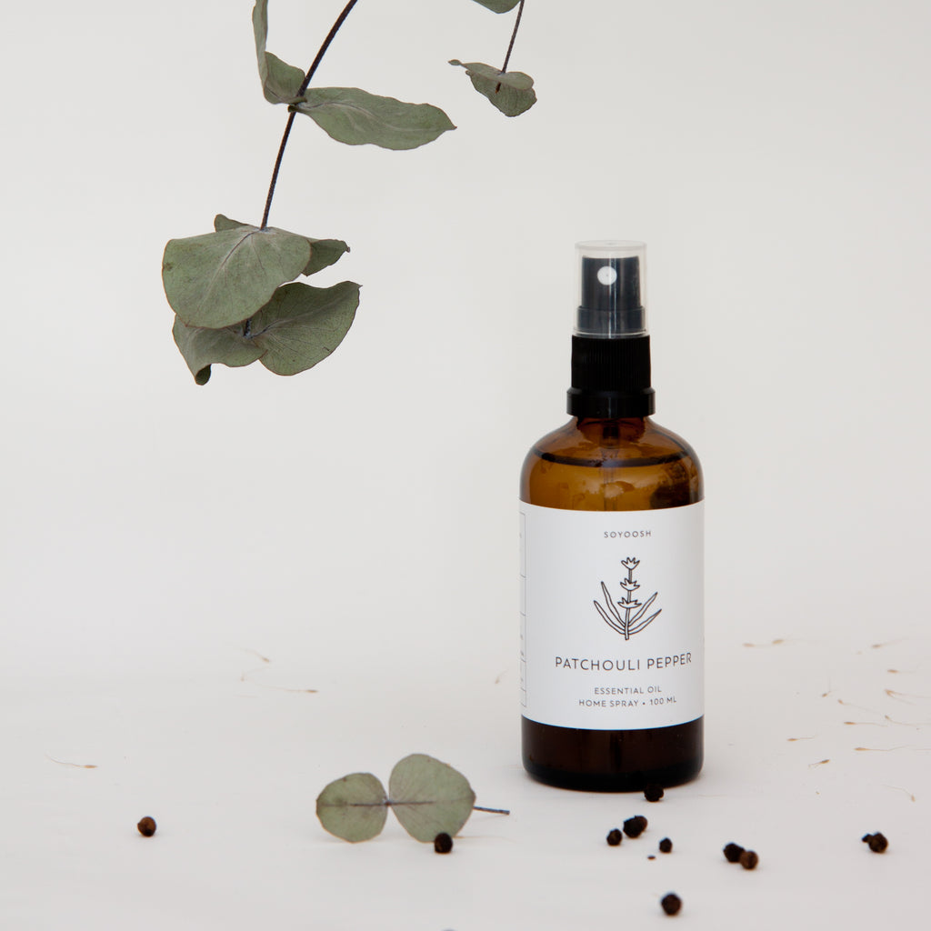 Home Spray Patchouli and pepper