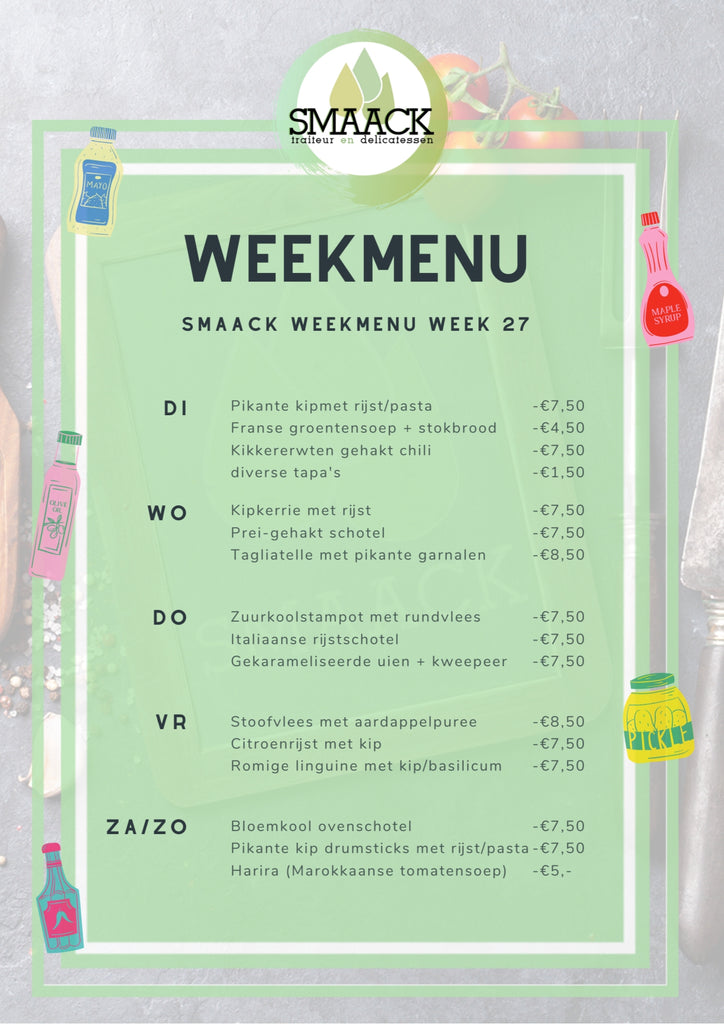 smaack menu week 27