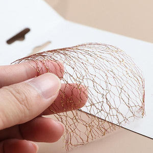 3D Mesh Net Nail Sticker