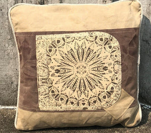 Repurpose Canvas Pillow