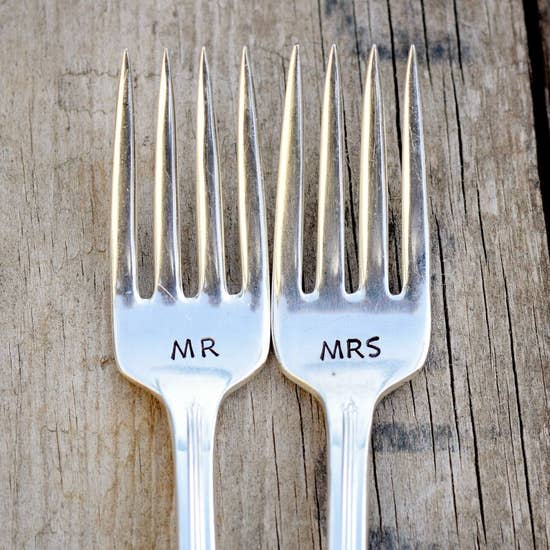 Mrs and Mrs Fork set
