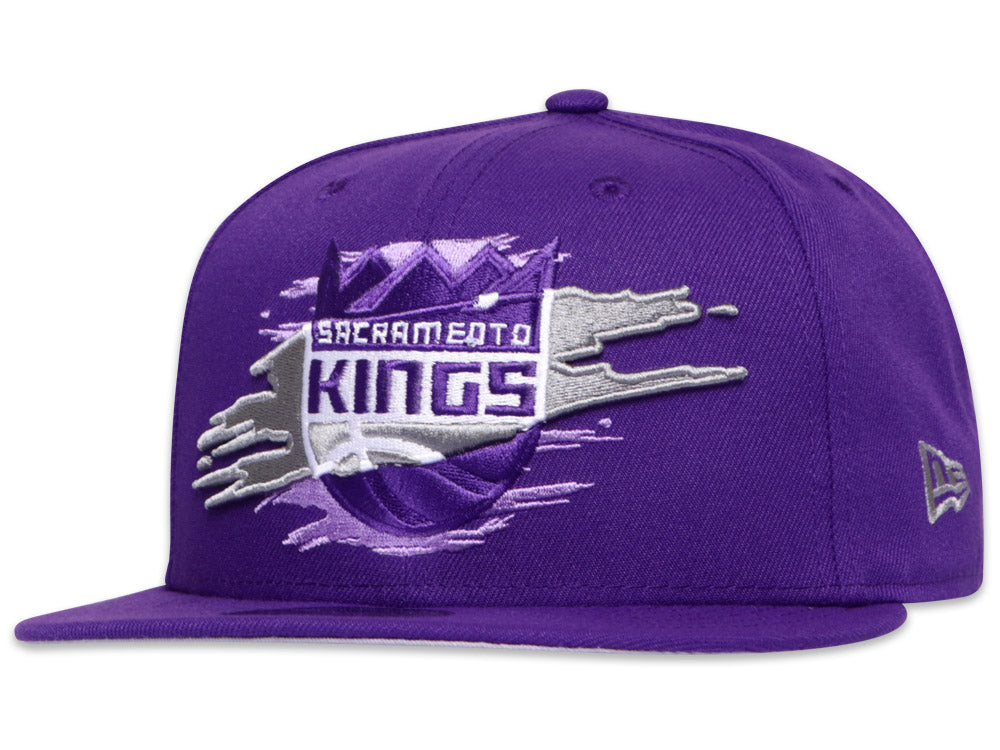 Sacramento Kings Official Team Color Logo Tear 9Fifty Snapback