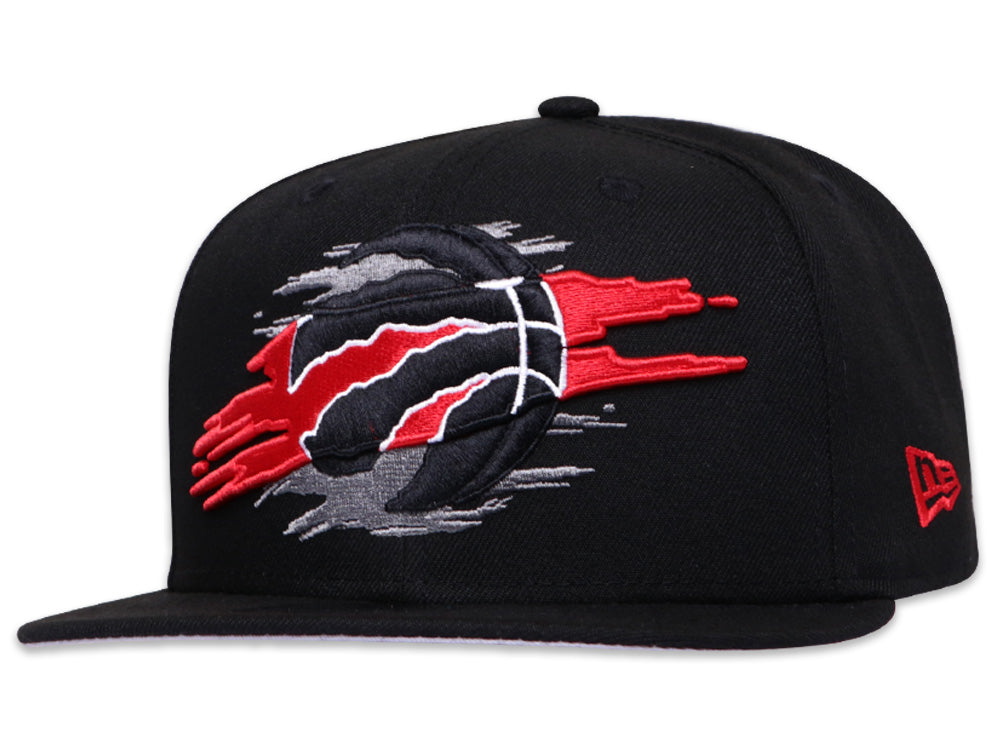 Toronto Raptors Official Team Color Logo Tear 9Fifty Snapback