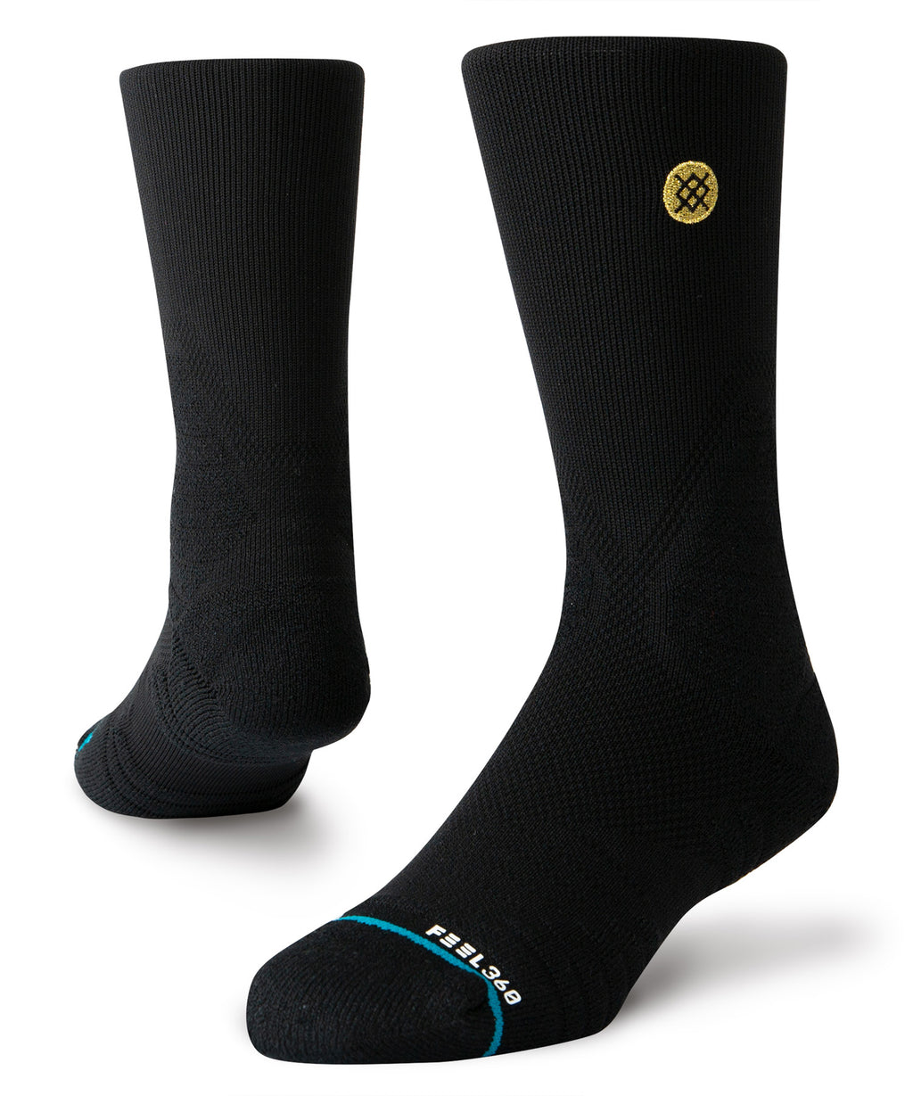 Gameday Pro Crew Socks Black