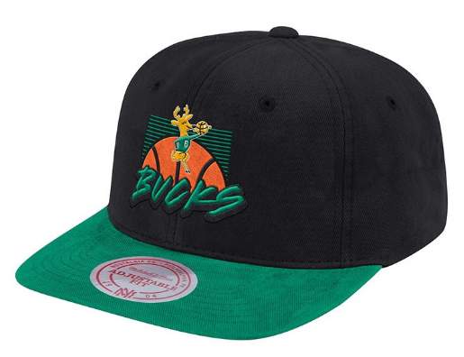 Milwaukee Bucks NBA Deadstock Snapback