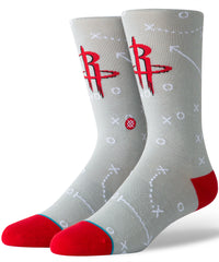 Rockets Playbook Crew Socks