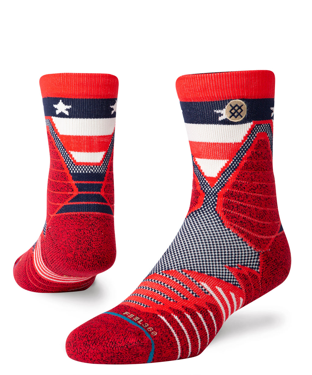 Hoops American St Quarter Socks