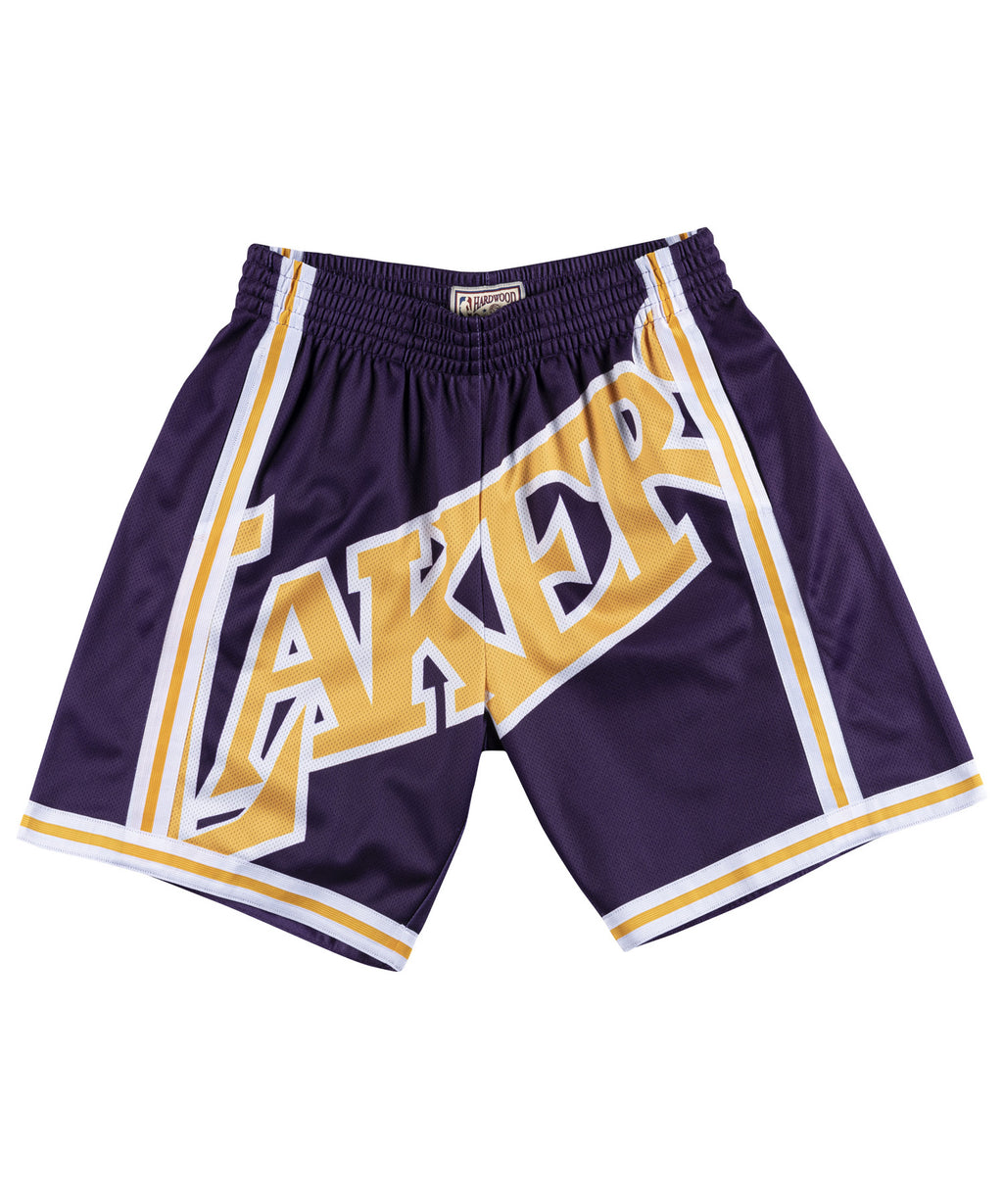 LA Lakers Big Face Shorts 1996