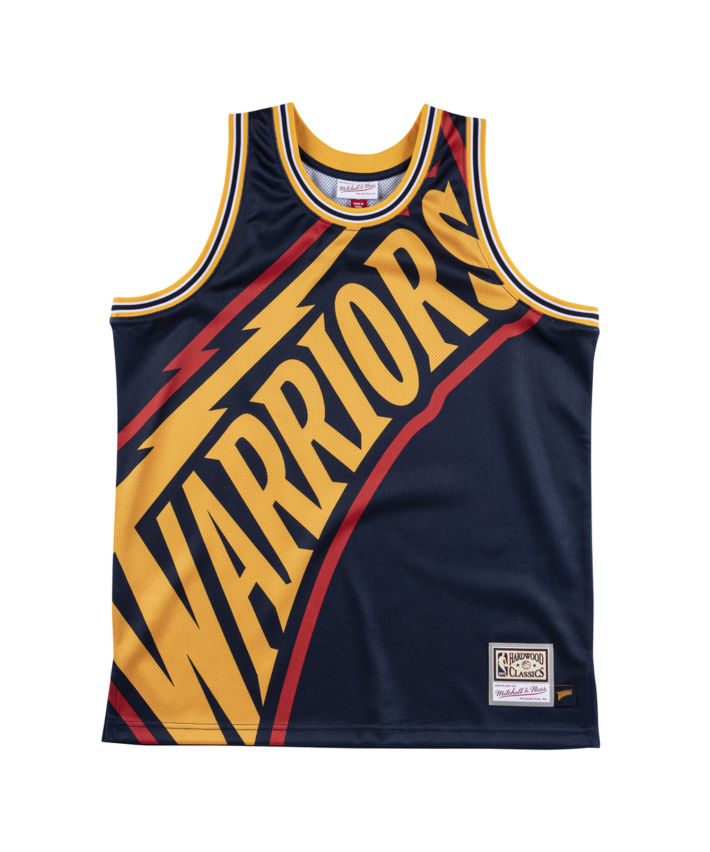 Golden State Warriors Big Face Jersey