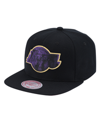 LA Lakers Mitchell & Ness Lookout Snapback