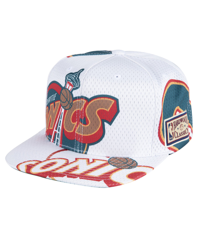 Seattle Supersonics NBA Tear Up Snapback HWC