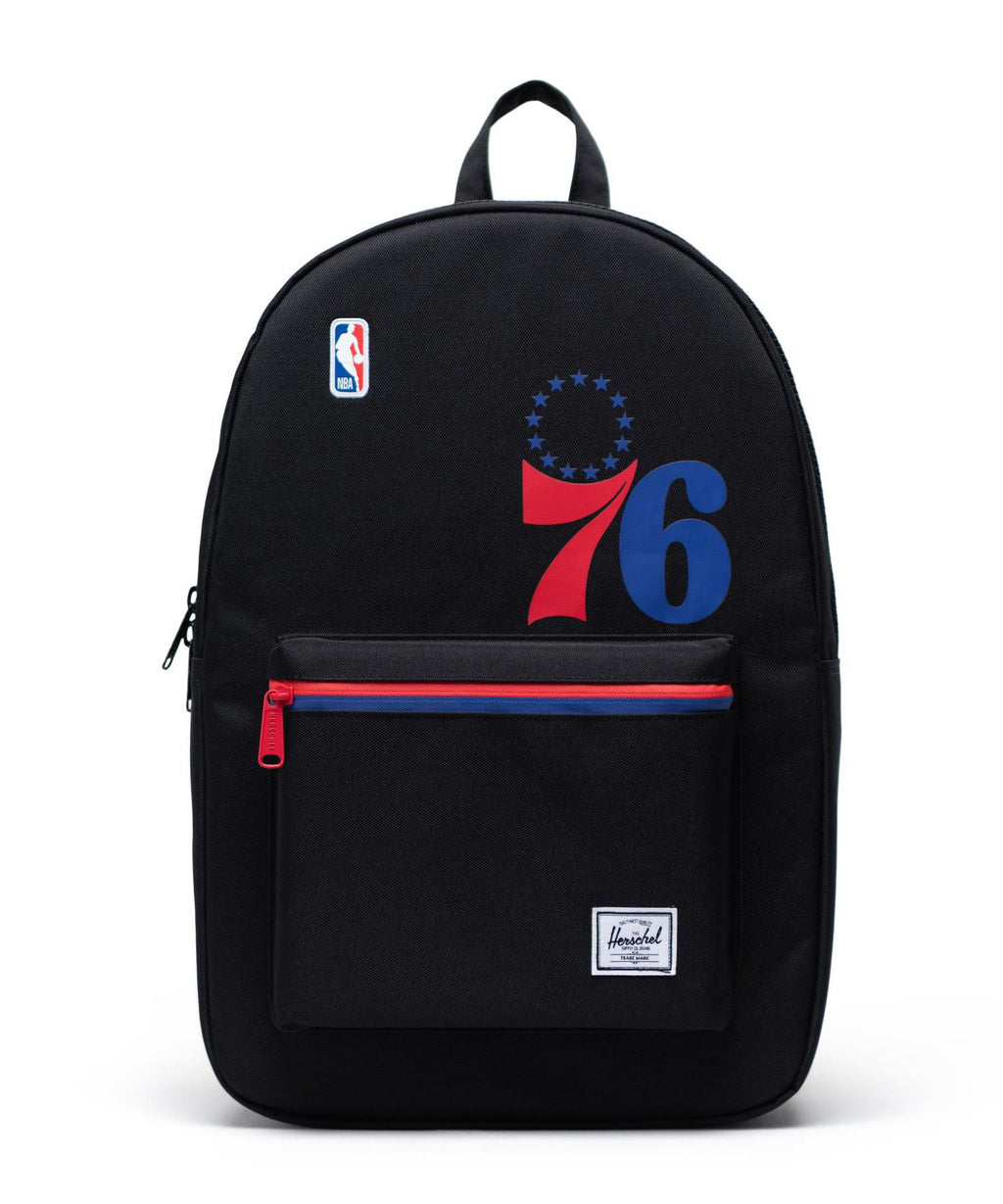 Philadelphia 76ers Settlement Backpack Black/Red/Blue