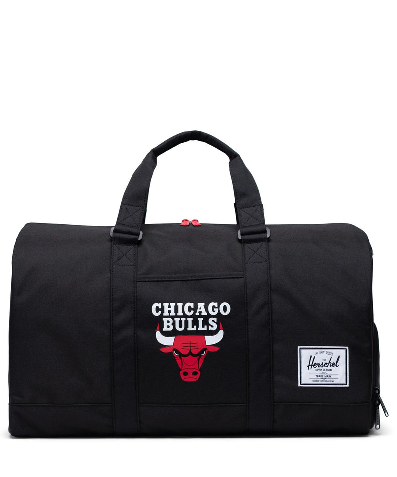 Chicago Bulls Novel Duffle Black/Red
