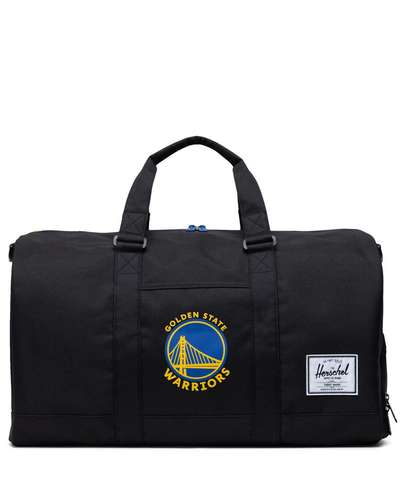 Golden State Warriors Novel Duffle Black/Royal/Yellow