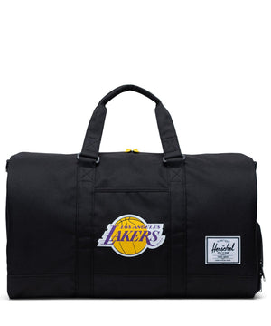 Los Angeles Lakers Novel Duffle Black/Gold/Purple