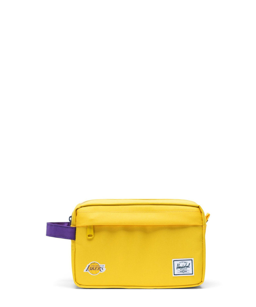 Los Angeles Lakers Chapter Organizer Bag Gold/Purple
