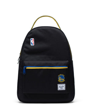 Golden State Warriors Nova Mid Backpack Black/Royal/Yellow