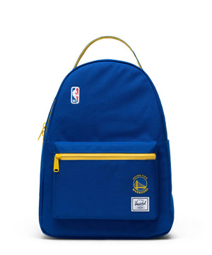 Golden State Warriors Nova Mid Backpack Royal/Yellow