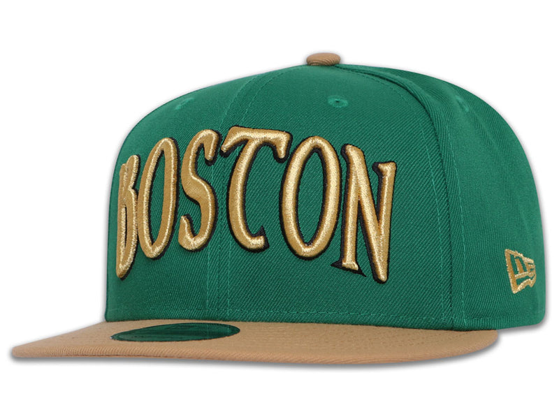 Boston Celtics New Era 9Fifty NBA Authentics City Series 2019 Snapback Cap