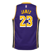 Grade School Big Boys LeBron James LA Lakers Jordan Statement Edition Jersey