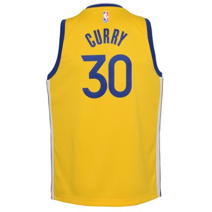 Grade School Big Boys Stephen Curry Golden State Warriors Jordan Statement Edition Jersey