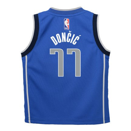 Preschool Little Boys Luka Doncic Dallas Mavericks Icon Edition Replica Jersey