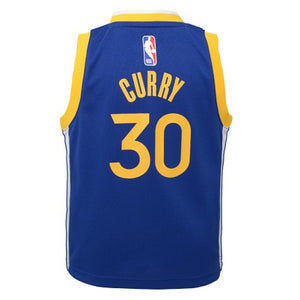Preschool Little Boys Stephen Curry Golden State Warriors Icon Edition Replica Jersey