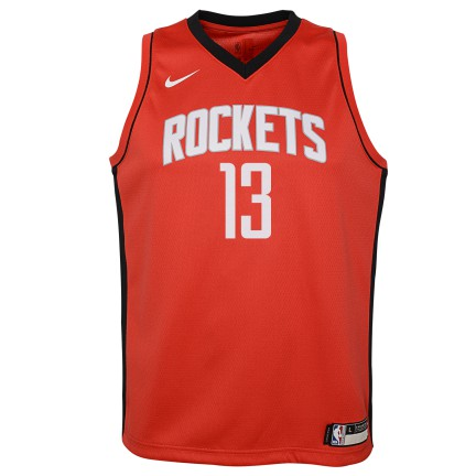 Grade School Big Boys James Harden Houston Rockets Nike Icon Edition Jersey