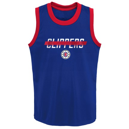 Grade School Big Boys LA Clippers In the Paint Shooter Tank