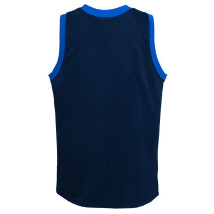 Grade School Big Boys Dallas Mavericks In the Paint Shooter Tank