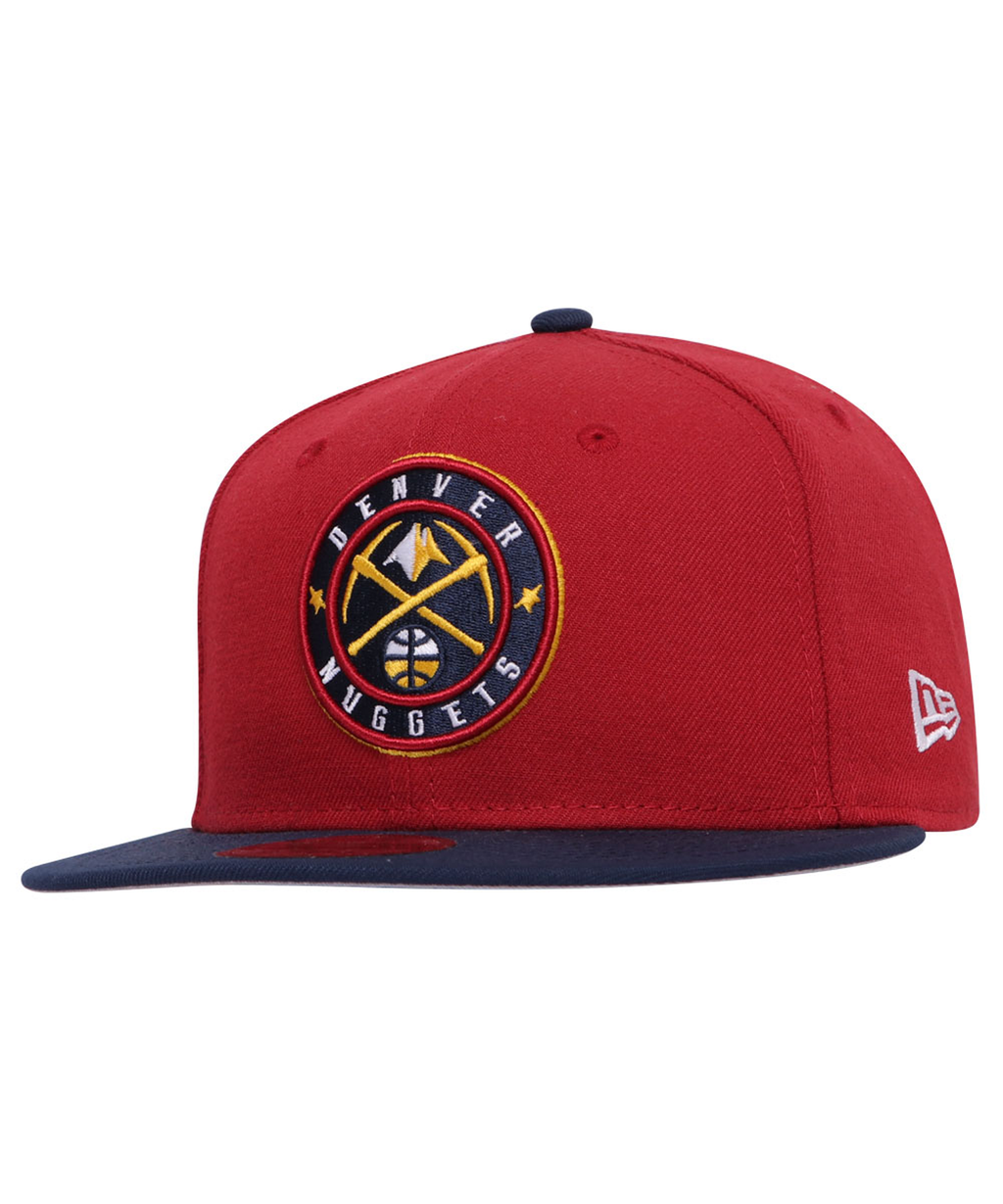 Denver Nuggets New Era Pinot Red OSB 9Fifty Adjustable Hat