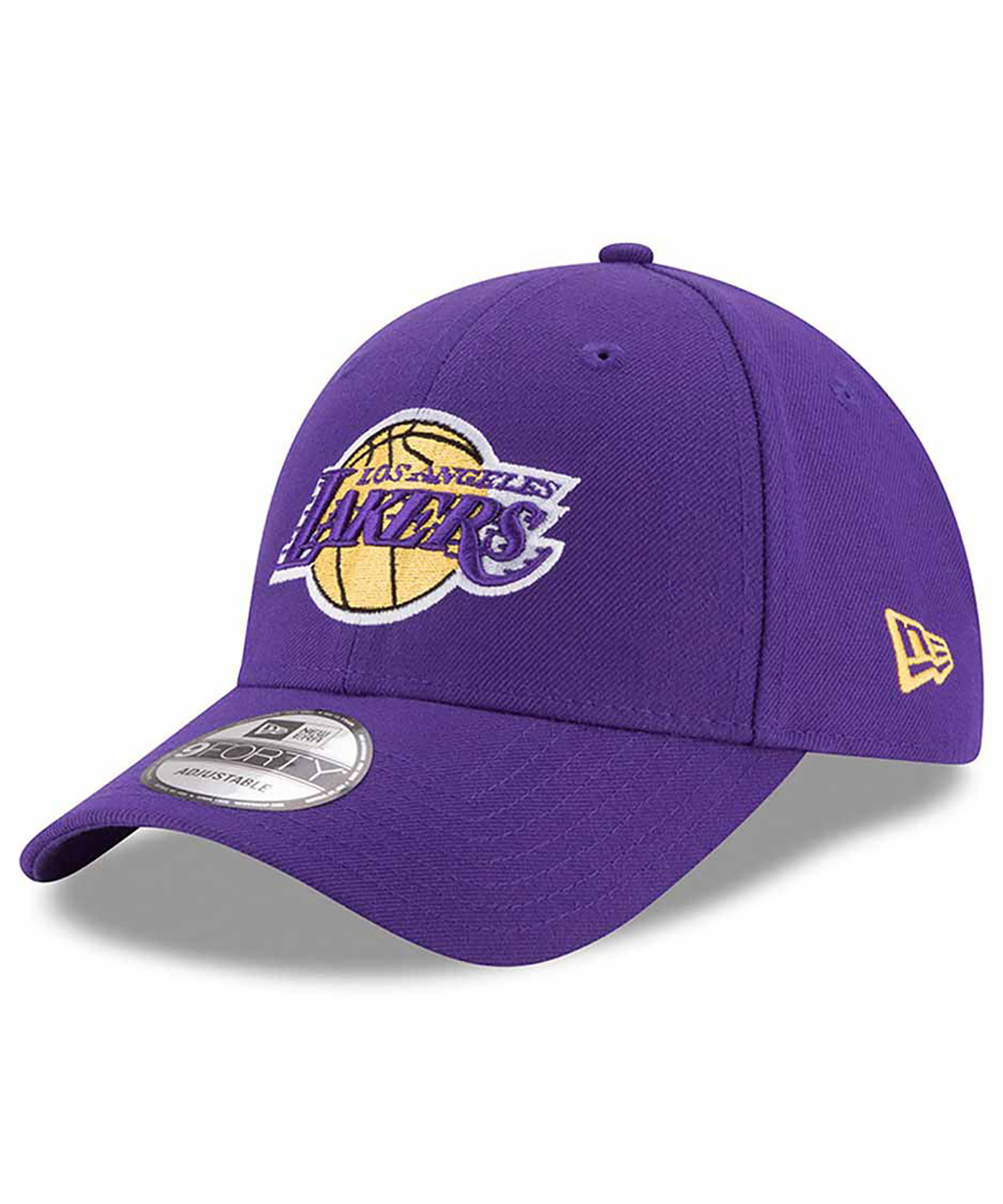 LA Lakers New Era Purple Official Team Color 9Forty Adjustable Hat