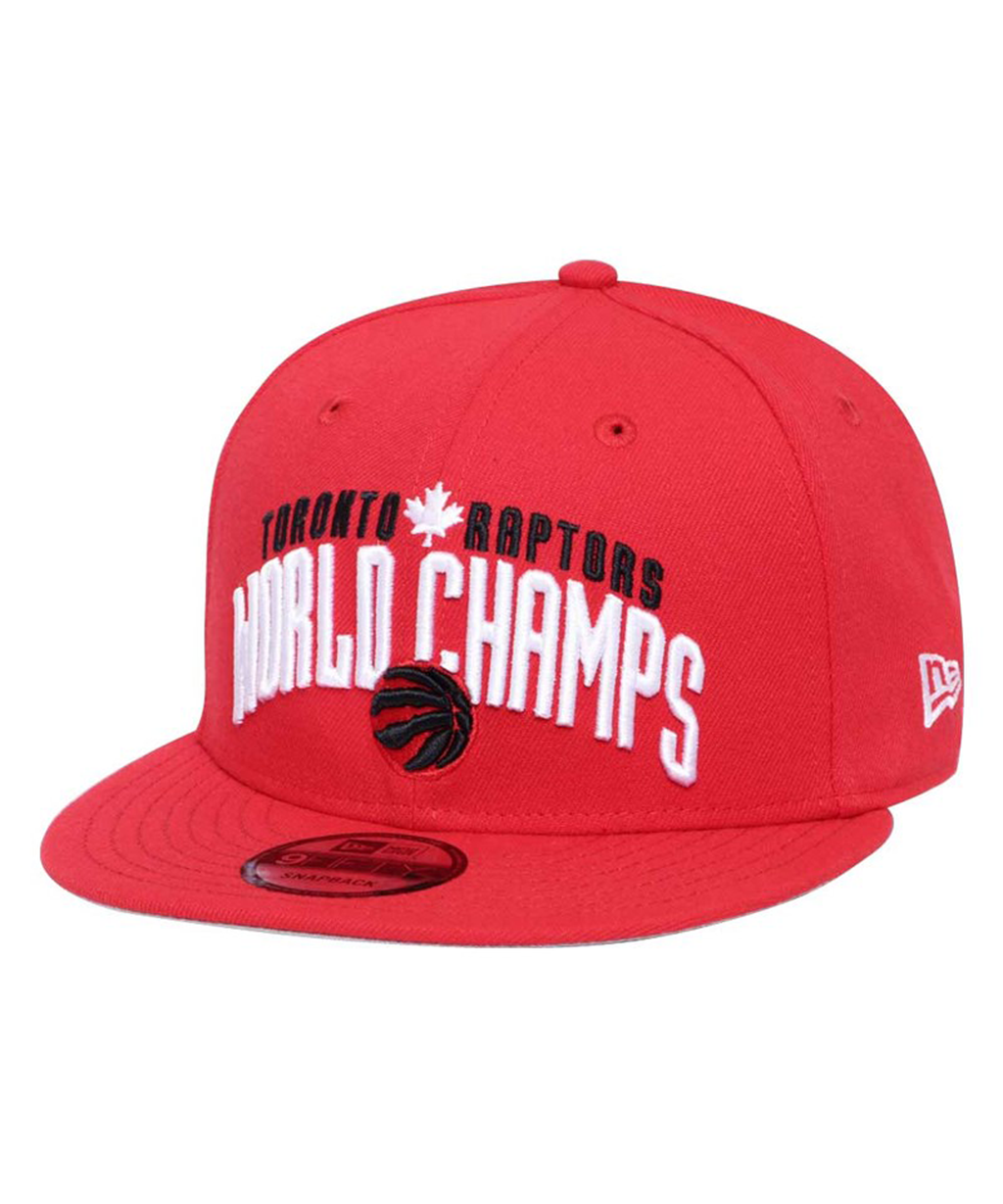 Toronto Raptors New Era WC Arched FDR 9Fifty Adjustable Hat