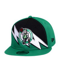 Boston Celtics New Era Retrosplit Green 9Fifty Adjustable Hat
